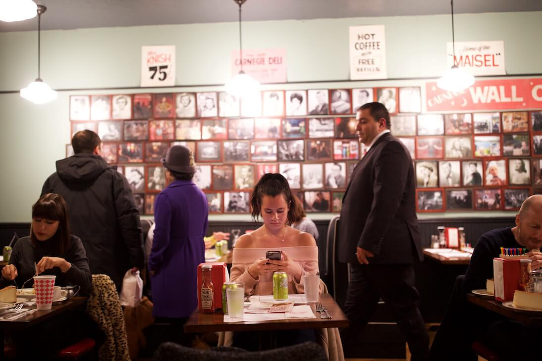 Amazon Video Recreated an Iconic NYC Deli and Invited People By Text