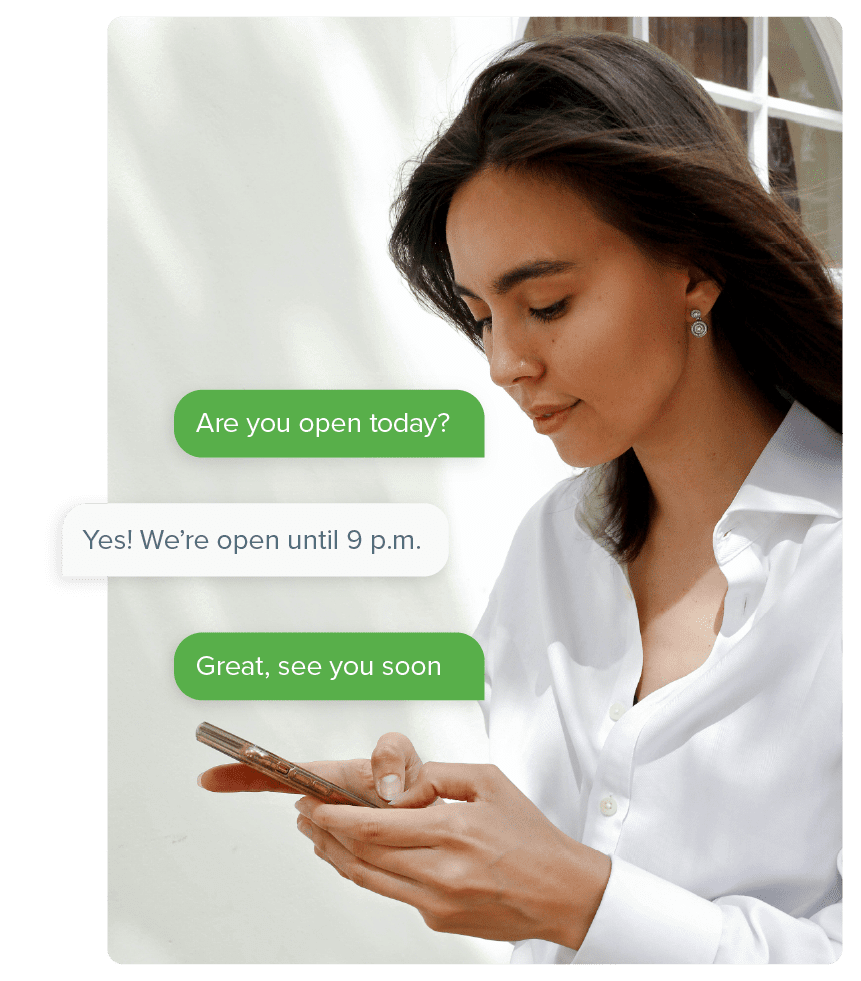 SMS for Customer Service and Support